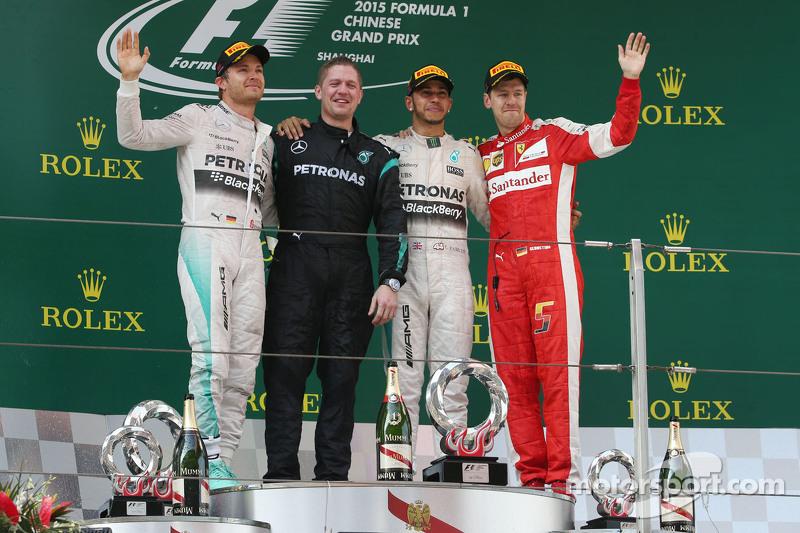 29 (2015) GP de China Segundo lugar