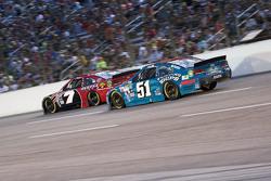 Justin Allgaier, HScott Motorsports, Chevrolet, und Alex Bowman, Tommy Baldwin Racing, Chevrolet