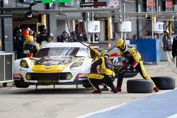 #50 Larbre Competition, Chevrolet Corvette C7.R: Gianluca Roda, Paolo Ruberti, Kristian Poulsen