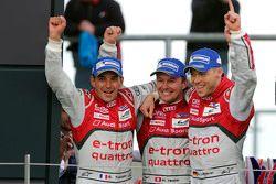 Yarış kazananı: Benoit Tréluyer, Marcel Fassler, André Lotterer