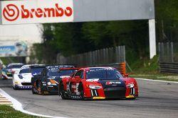 #2 Belgian Audi Club Team WRT Audi R8 LMS: Michael Broniszewski, Michael Lyons, Alessandro Bonacini