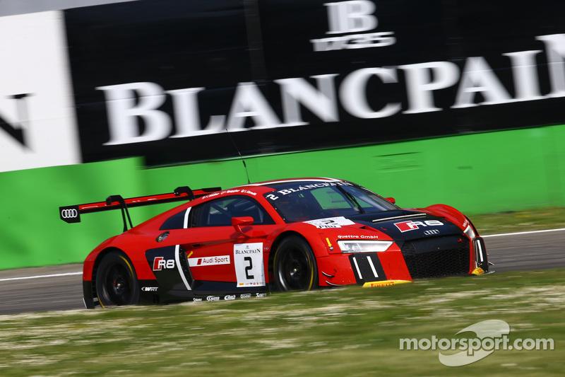 #2 Belgian Audi Club Team WRT, Audi R8 LMS: Michael Broniszewski, Michael Lyons, Alessandro Bonacini