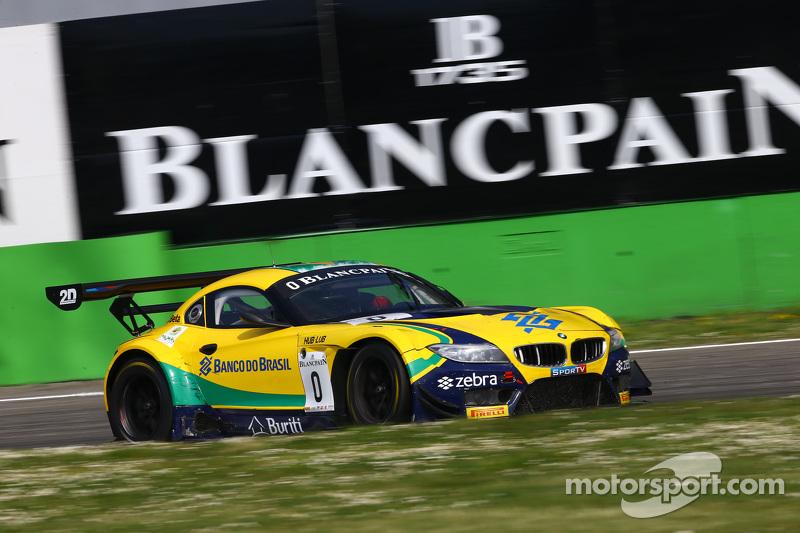 #1 BMW Sports Trophy Team Brasil, BMW Z4: Caca Bueno, Sergio Jimenez, Felipe Fraga