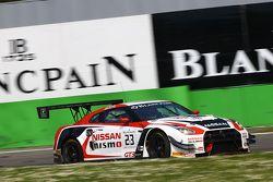 #23 Nissan GT Academy Team RJN Nissa GT-R Nismo GT3: Katsumasa Chiyo, Wolfgang Reip, Alexander Bunco