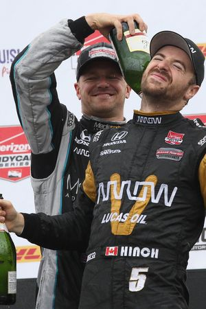 James Hinchcliffe, Schmidt Peterson Motorsports Honda ve James Jakes, Schmidt Peterson Motorsports