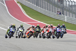 Start: Andrea Dovizioso, Ducati Team, in Führung