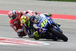 Valentino Rossi, Yamaha Fabrika Takımı ve Andrea Dovizioso, Ducati Takımı