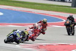 Valentino Rossi, Yamaha Fabrika Takımı ve Andrea Dovizioso ve Andrea Iannone, Ducati Takımı ve Bradl