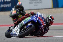 Jorge Lorenzo, Yamaha Factory Racing y Bradley Smith, Yamaha Tech 3