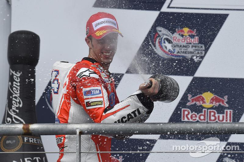 Podium: 2. Andrea Dovizioso, Ducati Team