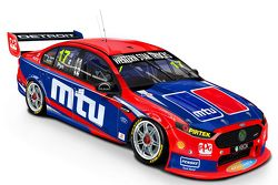 New livery for Scott Pye