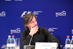Алексей Попов на пресс-конференции Сочи Автодрома