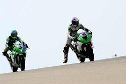 Kenan Sofuoglu, Puccetti Racing Kawasaki et P.J. Jacobsen, Kawasaki