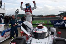 Race winner Marcel Fassler