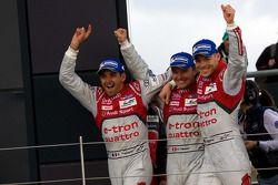 Yarış kazananı Benoit Tréluyer, Marcel Fassler, André Lotterer
