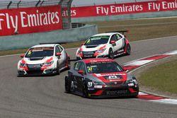 Norbert Toth, Seat Leon Racer, Zengo Motorsport , Kevin Gleason, Honda Civic TCR, West Coast Racing