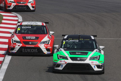 Tengyi Jiang, Seat Leon Racer , Target Competition en Pepe Oriola, SEAT Leon Racer, Team Craft-Bambo