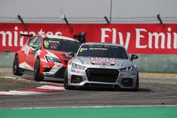 Mikhail Grachev, Audi TT, Liqui Moly Team Engstler and Jordi Gene, SEAT Leon Racer, Team Craft-Bambo