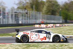 #54 Attempto Racing,迈凯伦650S GT3: Ronnie Valori, Alessandro Balzan, Yoshiharu Mori