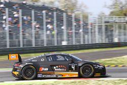 #4 Belgian Audi Club Team WRT, Audi R8 LMS Ultra: Max Koebolt, Sacha Bottemanne, Pieter Schothorst