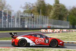 #10 Akka ASP 法拉利 458 Italia: Gabriel Balthazard, Maurice Ricci, Tristan Vautier