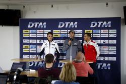 Marco Wittmann, BMW Team RMG BMW M4 DTM, Christian Vietoris, HWA AG Mercedes-AMG C63 DTM, Timo Schei