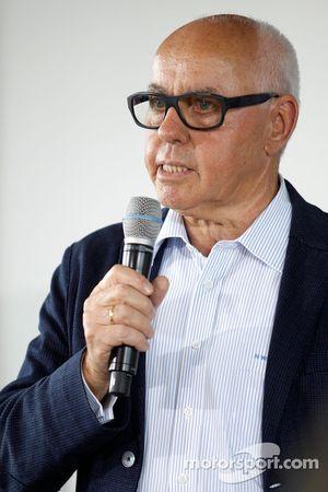 Hans Werner Aufrecht, patron de HWA, et président de l'ITR