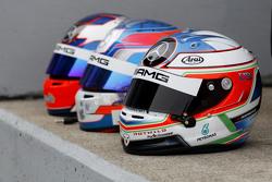 Helmet of Paul di Resta, HWA AG Mercedes-AMG C63 DTM