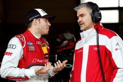 Edoardo Mortara, Audi Sport Team Abt Audi RS 5 DTM et Dieter Gass, Audi Sport