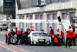 Parada en pits Nico Müller, Audi Sport Team Rosberg Audi RS 5 DTM