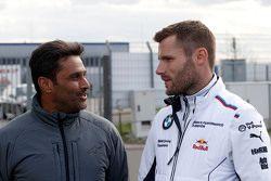 Nasser Al Attiyah and Martin Tomczyk, BMW Team Schnitzer BMW M4 DTM