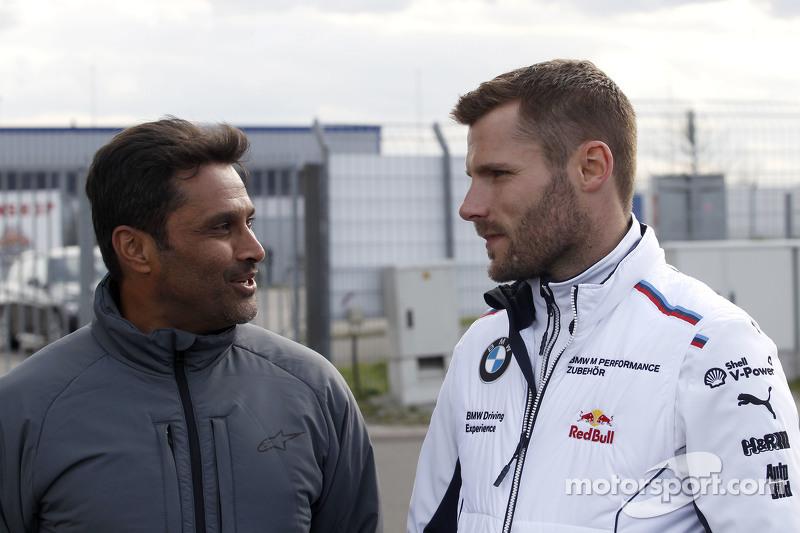 Нассер Аль-Аттія та Мартін Томчик, BMW Team Schnitzer BMW M4 DTM