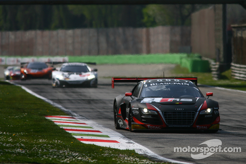 #3 Belgian Audi Club Team WRT, Audi R8 LMS ultra: Stéphane Richelmi, Kelvin van der Linde, Christoph