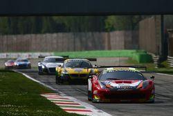 #20 Akka ASP Ferrari 458 Italia : Jean-Luc Beaubelique, Philippe Giauque, Morgan Moulin Traffort