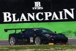 #66 Black Pearl Racing by Rinaldi, Ferrari 458 Italia: Steve Parrow, Pierre Kaffer