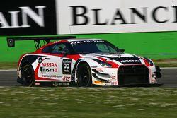 #22 Nissan GT Academy Team RJN Nissan GT-R Nismo GT3: Ricardo Sanchez, Marc Gassner, Florian Strauss