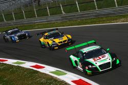 #24 Team Parker Racing, Audi R8 LMS Ultra: John Loggie, Julian Westwood