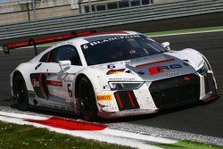 #6 Phoenix Racing, Audi R8 LMS: Christopher Haase, Christian Mamerow, Markus Winkelhock