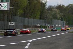 مجريات السباق