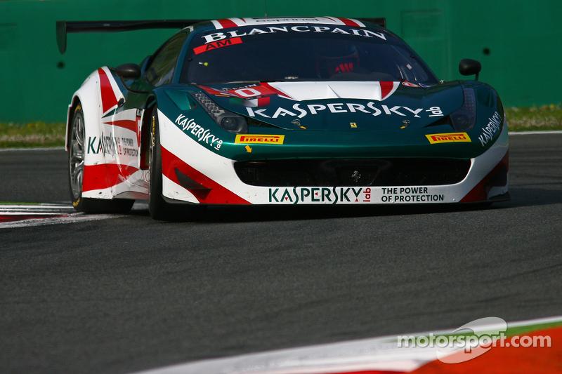 #50 AF Corse Ferrari 458 Italia: Alexander Moiseev, Garry Kondakov, Riccardo Ragazzi