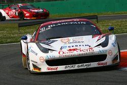 #41 Sport Garage Ferrari 458 Italia: Arno Santamato