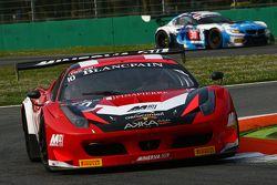 #10 Akka ASP Ferrari 458 Italia : Gabriel Balthazard, Maurice Ricci, Tristan Vautier