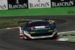 #50 AF Corse, Ferrari 458 Italia: Alexander Moiseev, Garry Kondakov, Riccardo Ragazzi