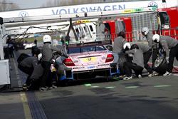 Parada en boxes para Gary Paffett, ART Grand Prix Mercedes-AMG C63 DTM