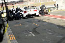 Arrêt aux stands pour Antonio Felix da Costa, BMW Team Schnitzer BMW M4 DTM