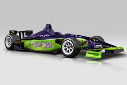 Picho Toledano's Indy Lights car