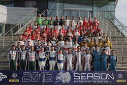 Foto grupal de pilotos 2015