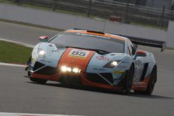 #85 Gulf Racing UK Lamborghini Gallardo LP560 GT3: Roald Goethe, Daniel Brown, Archie Hamilton