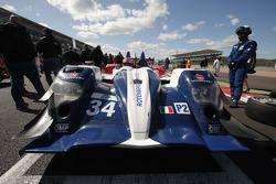 #34 AF Corse, Oreca 03 - Nissan: Mikhail Aleshin, Kiriil Ladygin, Anton Ladygin