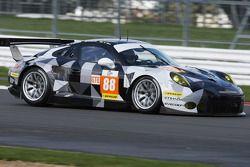 #88 Proton Competition Porsche 911 RSR : Klaus Bachler, Khaled Al Qubaisi, Christian Ried